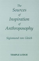 Book Cover for THE SOURCES OF INSPIRATION OF ANTHROPOSOPHY