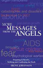 Book Cover for MORE MESSAGES FROM THE ANGELS