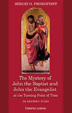 Book Cover for THE MYSTERY OF JOHN THE BAPTIST AND JOHN THE EVANGELIST AT THE TURNING POINT OF TIME