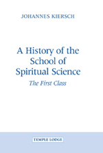 Book Cover for A HISTORY OF THE SCHOOL OF SPIRITUAL SCIENCE