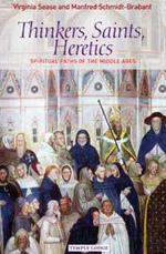 Book Cover for THINKERS, SAINTS, HERETICS