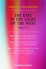 Book Cover for THE EAST IN THE LIGHT OF THE WEST, PARTS 1 - 3