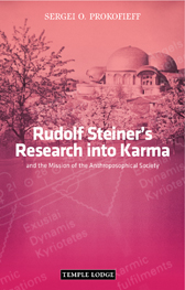 Book Cover for RUDOLF STEINER'S RESEARCH INTO KARMA