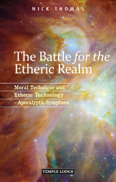 Book Cover for THE BATTLE FOR THE ETHERIC REALM