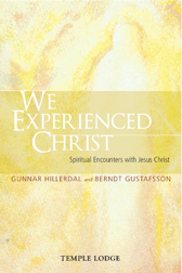 Book Cover for WE EXPERIENCED CHRIST